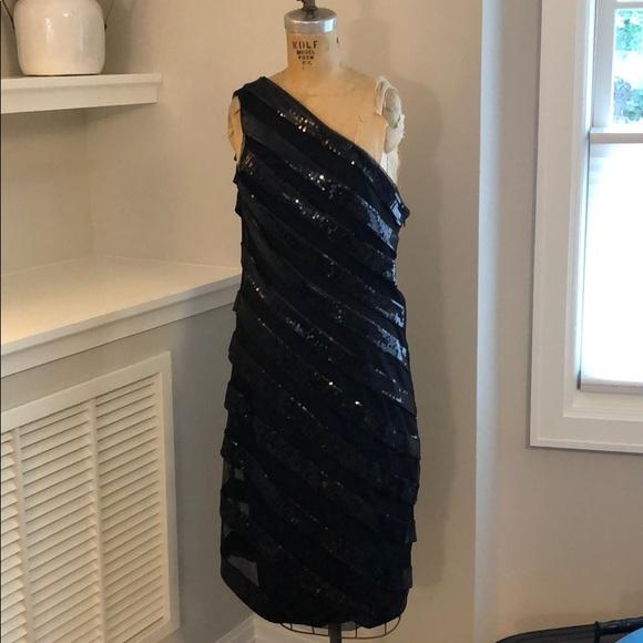 Tadashi Shoji Dresses & Skirts - Black Sequin Cocktail Dress